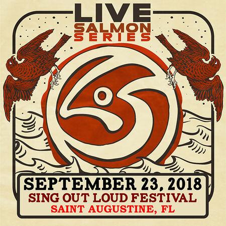 09/23/18 Sing Out Loud Festival, Saint Augustine, FL