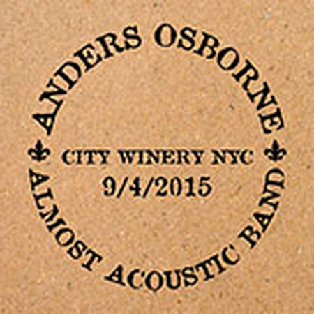 09/04/15 City Winery, New York, NY