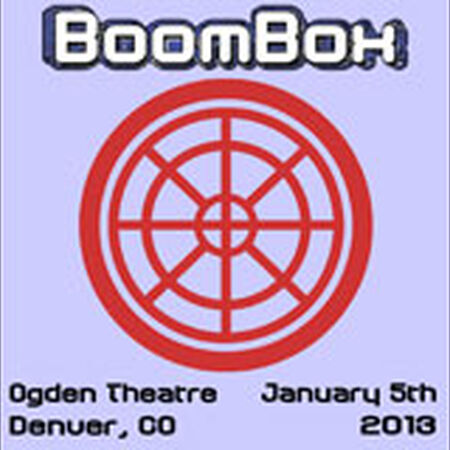 01/05/13 Ogden Theatre, Denver, CO