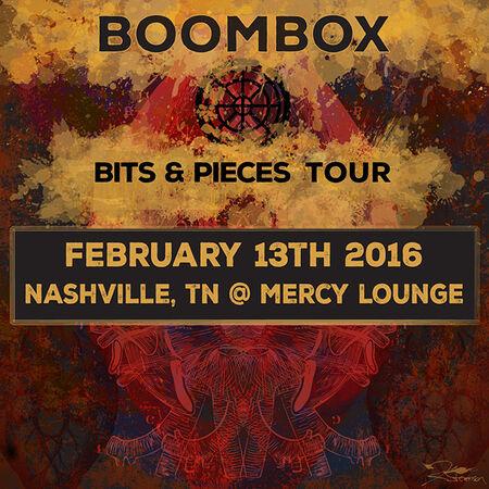 02/13/16 Mercy Lounge, Nashville, TN