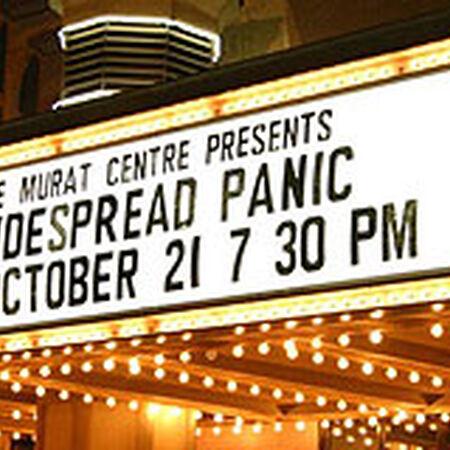 10/21/07 The Murat Theatre, Indianapolis, IN