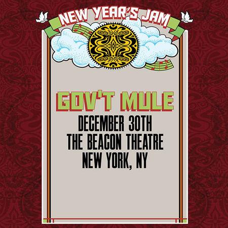 12/30/15 The Beacon Theatre, New York, NY