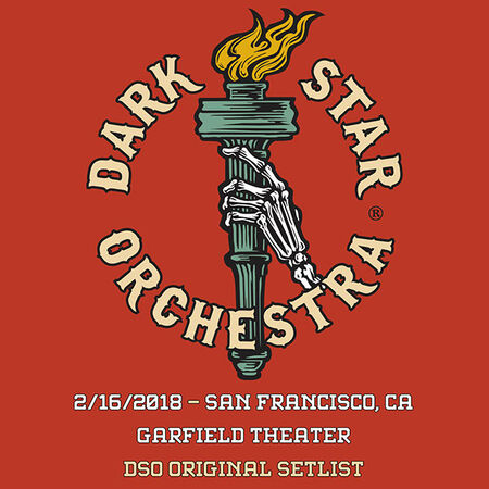 02/16/18 The Warfield, San Francisco, CA