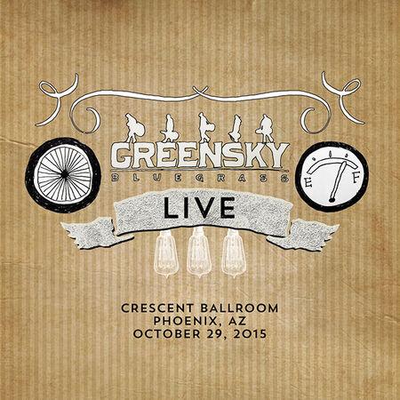 10/29/15 Crescent Ballroom, Phoenix, AZ