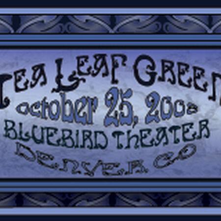 10/25/08 Bluebird Theater, Denver, CO