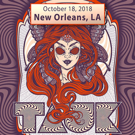 10/18/18 Theater, New Orleans, LA