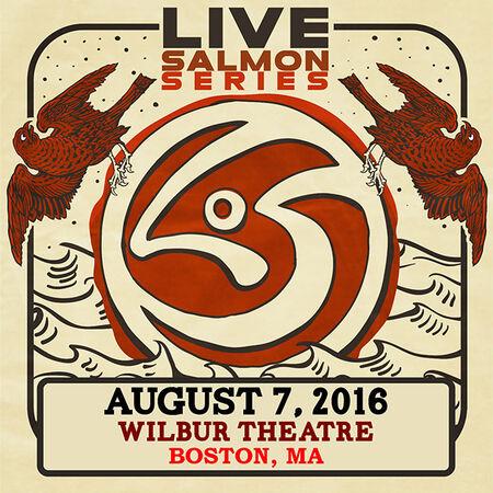 08/07/16 Wilbur Theatre, Boston, MA