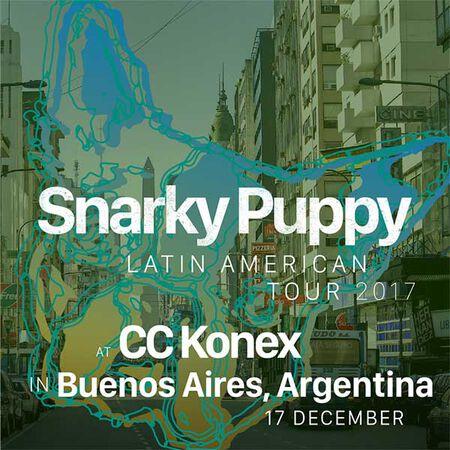 12/17/17 CC Konex, Buenos Aires, AR
