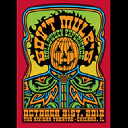 10/31/12 The Riviera Theatre, Chicago, IL