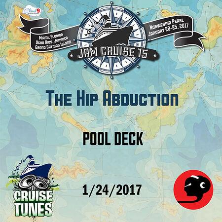 01/24/17 Pool Deck, Jam Cruise, US
