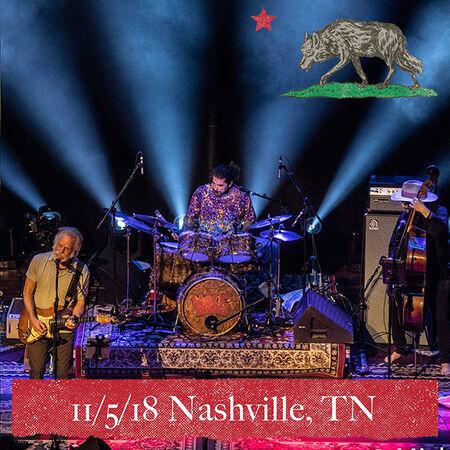 11/05/18 Ryman Auditorium, Nashville, TN
