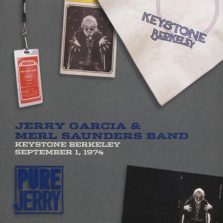 09/01/74 Pure Jerry: Keystone, Berkeley, CA
