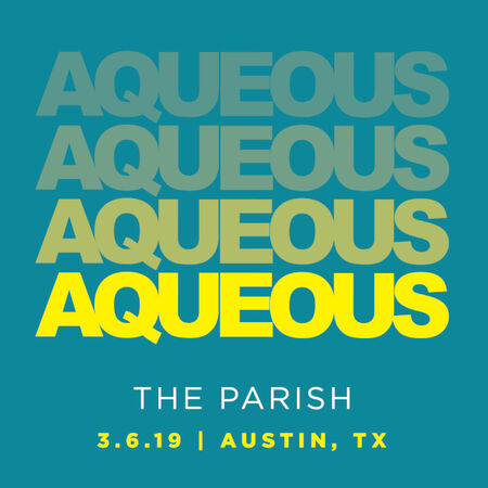 03/06/19 The Parish, Austin, TX