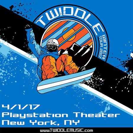 04/01/17 PlayStation Theater, New York, NY