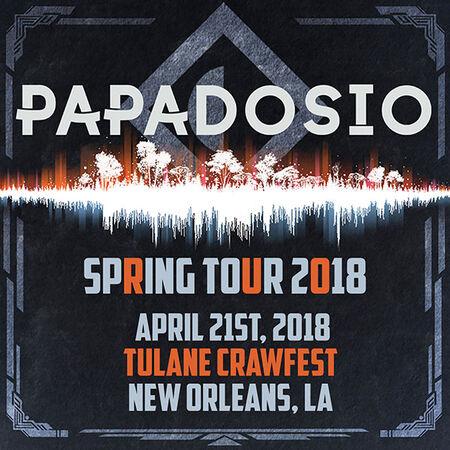 04/21/18 Tulane Crawfest, New Orleans, LA