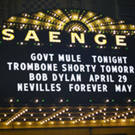 04/24/15 Saenger Theatre, New Orleans, LA