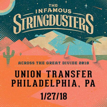 01/27/18 Union Transfer, Philadelphia, PA
