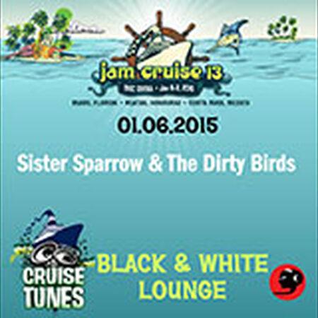 01/06/15 B&W Lounge, Jam Cruise, US