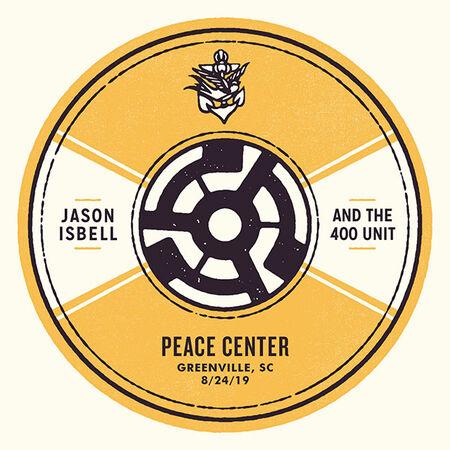 08/24/19 Peace Center, Greenville, SC