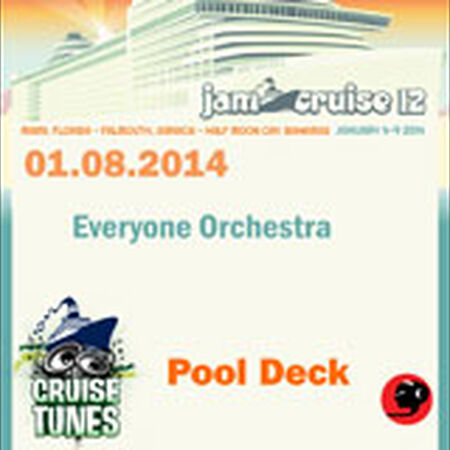 01/08/14 Pool Deck, Jam Cruise, US