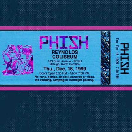 12/16/99 Reynolds Coliseum, Raleigh, NC