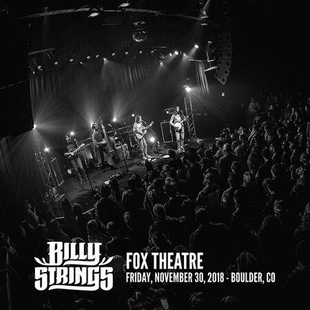 11/30/18 Fox Theatre, Boulder, CO