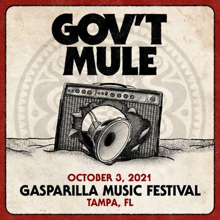 10/03/21 Gasparilla Music Festival, Tampa, FL
