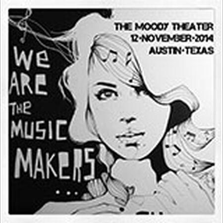 11/12/14 The Moody Theater, Austin, TX