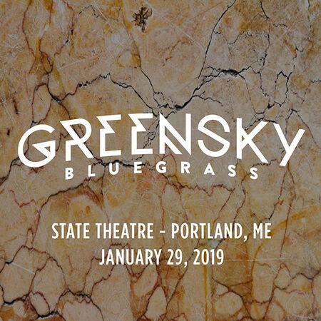 01/29/19 State Theatre, Portland, ME