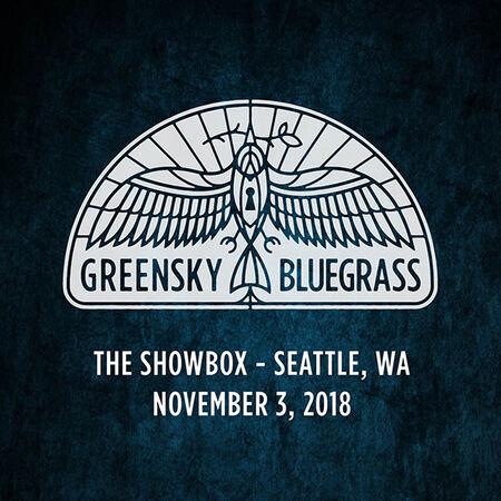 11/03/18 The Showbox, Seattle, WA
