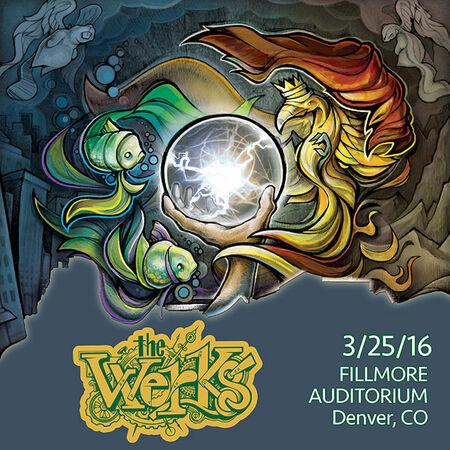 03/25/16 Fillmore Auditorium, Denver, CO