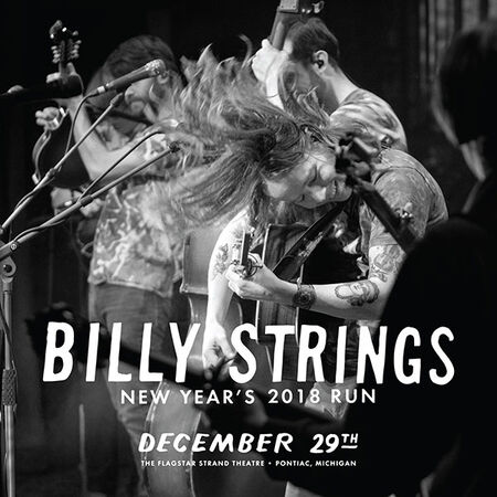 12/29/18 Flagstar Strand Theatre For The Arts , Pontiac, MI