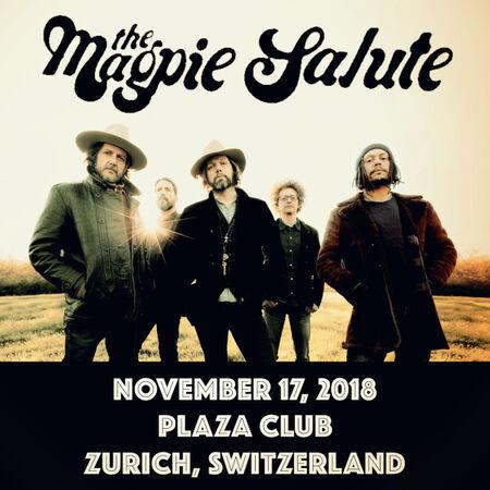 11/17/18 Plaza Club, Zurich, CH