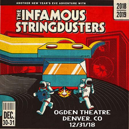 12/31/18 Ogden Theatre, Denver, CO