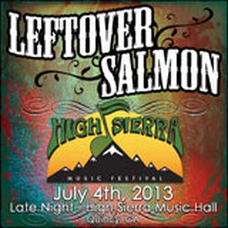 07/04/13 High Sierra Music Festival, Quincy, CA