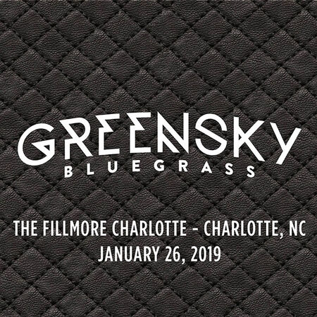 01/26/19 The Fillmore Charlotte, Charlotte, NC