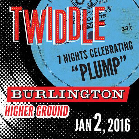 01/02/16 Higher Ground, Burlington, VT