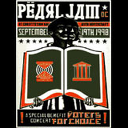 09/19/98 Constitution Hall, Washington, DC