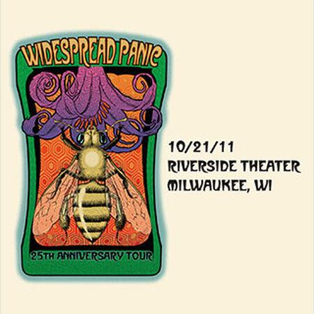 10/21/11 Riverside Theater, Milwaukee, WI