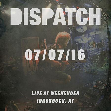 07/07/16 Weekender, Innsbruck, AT
