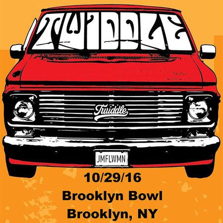 10/29/16 Brooklyn Bowl, Brooklyn, NY