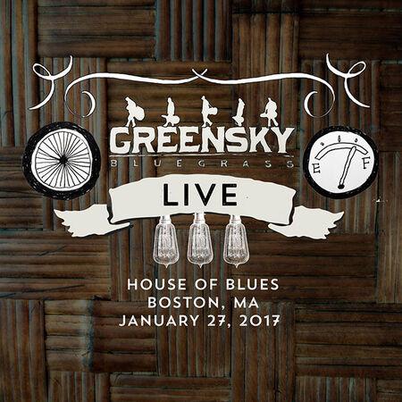 01/27/17 House Of Blues, Boston, MA