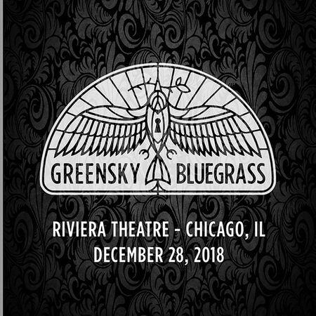 12/28/18 Riviera Theatre, Chicago, IL