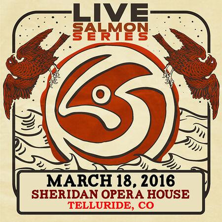 03/18/16 Sheridan Opera House, Telluride, CO