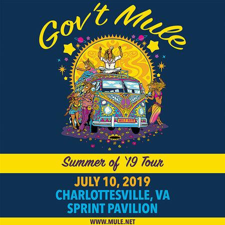 07/10/19 Sprint Pavilion, Charlottesville, VA