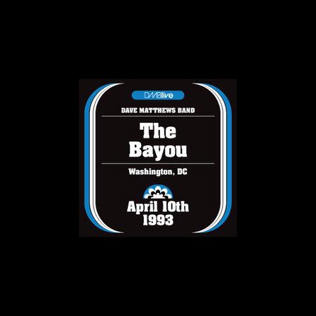 04/10/93 The Bayou, Washington, D.C.
