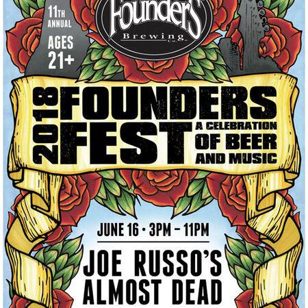 06/16/18 Founders Fest, Grand Rapids, MI