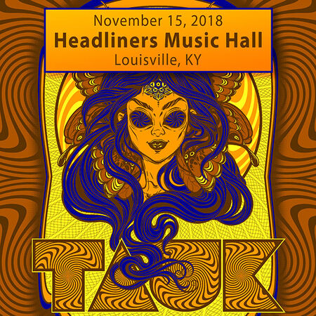 11/15/18 Headliners Music Hall, Louisville, KY