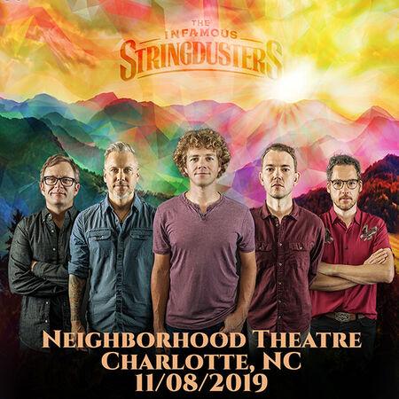 11/08/19 The Neighborhood Theater, Charlotte, NC