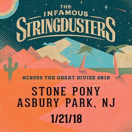 01/21/18 The Stone Pony, Asbury Park, NJ